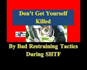 Prepper Security: Taking Detainees During SHTF – Properly Binding the Hands