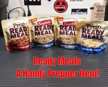 Prego / Campbell's Ready Meals: A Handy Prepper Item