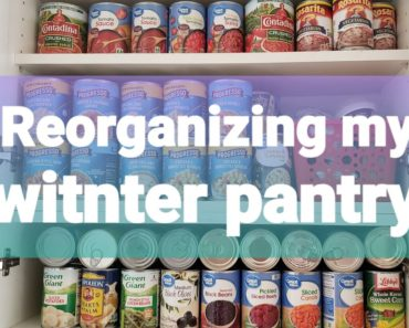 Finding Space For Prepper Pantry Always Working Food Rotation