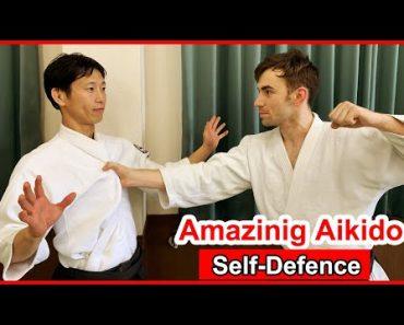 Amazing! Aikido special self-defense techniques – Shirakawa Ryuji shihan
