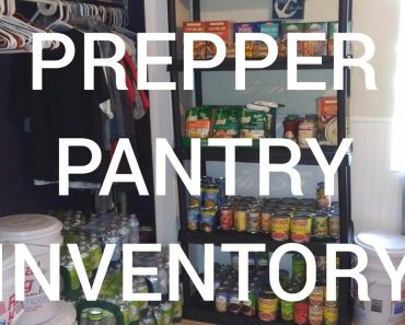 PREPPER PANTRY INVENTORY THE FINALE OF THE SERIES