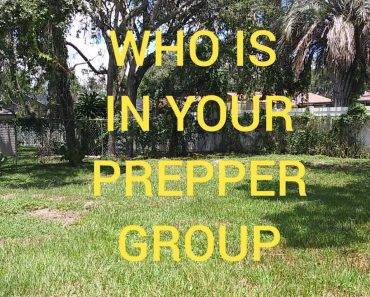 WHO IS IN YOUR PREPPER GROUP & WHAT IS YOUR ROLE?