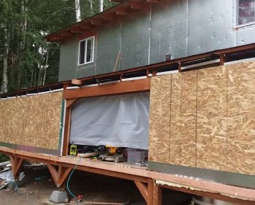 Alaska Prepper:  Update on my enclosed deck build. August 3, 2018