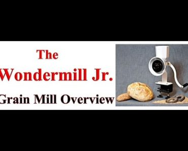 Prepper Food: Must Have Prepping Item – The Wondermill Jr Deluxe Grain Mill