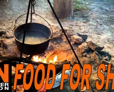 Food for SHTF – Bugging Out