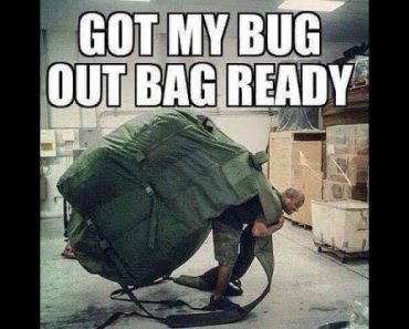 Preppers bugging out into the Woods