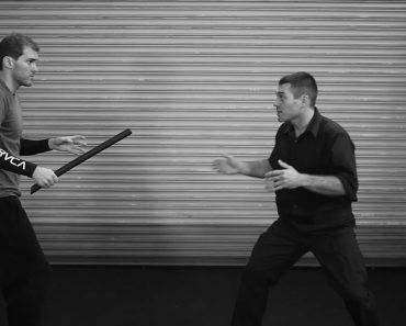 Self Defense Tactics –  Open Hand Against Stick attack