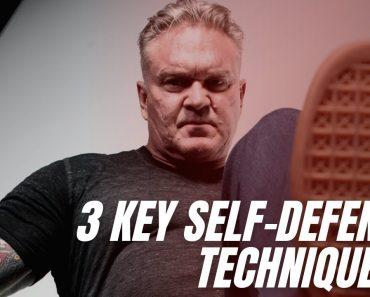 3 Key Self-Defense Techniques | Self-Protection Expert Tim Larkin