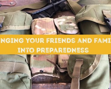 Convincing friends and family to prepare (prepping, emergency preparedness, survival, SHTF)