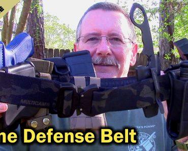 Home Defense Belt – A Battle Belt For Your Pajamas