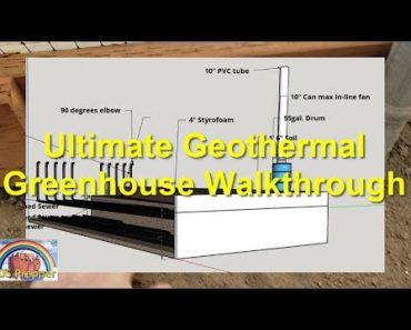 Ultimate Geothermal Greenhouse Walkthrough