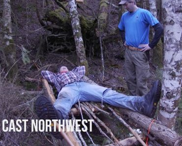 How to Build a Shelter & Survive with Nothing in the Canadian Wilderness | Captain Quinn