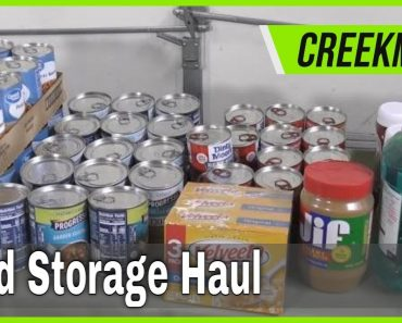 Prepare For What's Coming / Emergency Pantry Prepper Food Storage Haul for Walmart