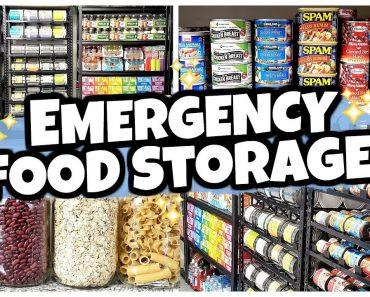 20 Foods I Keep in MY SECRET PREPPER PANTRY (Food Storage 101)