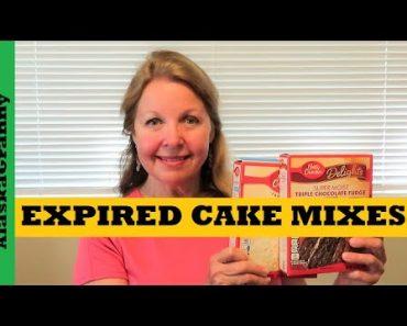 Expired Cake Mixes – Prepper Pantry Pros Cons Tips Tricks