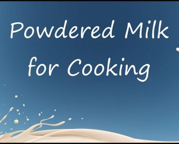 How to use your Powdered Milk from Food Storage ~ Prepper Pantry Tips