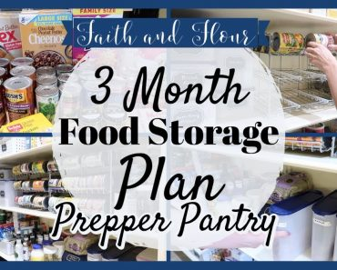 Preparing for a 3 Month Food Supply | Prepper Pantry 2020 | Building an Extended Pantry
