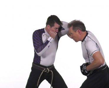 Dave Kovar Self-Defense Tips: Close-Range Mitt Drills