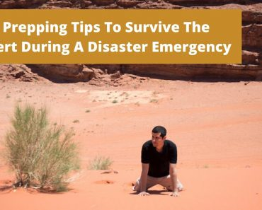 Best Survival Prepper – 5 Prepping Tips To Survive The Desert During A Disaster Emergency