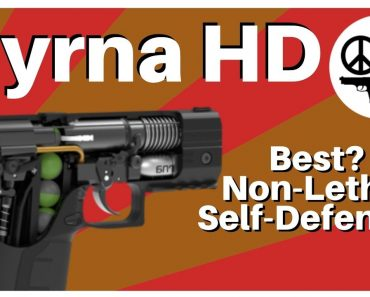 Best Non Lethal Self Defense? – Byrna HD – Pepper Ball Pew Pew
