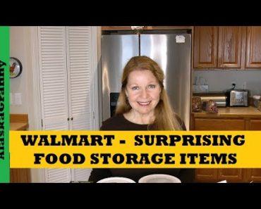 Walmart Surprising Food Storage Items For Long Term Food Stockpile – Prepper Pantry