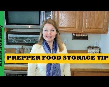 Prepper Food Storage Tips Emergency Food Storage for Beginners