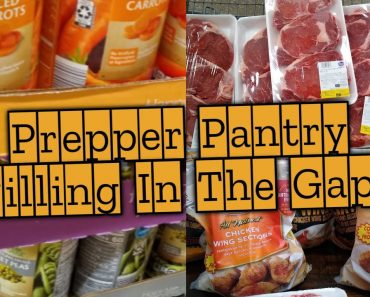 Filling In The Prepper Pantry Gaps ! | Freezer Meat & Canned Food Pantry Haul