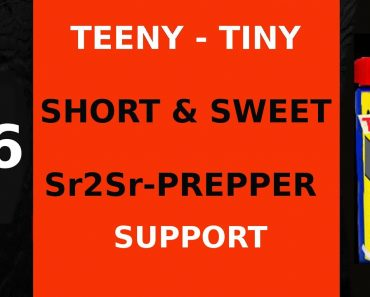 #6 TEENY TINY SHORT & SWEET SR2SR PREPPER – SUPPORT IS SOMETIMES RIGHT UP FRONT BUT NOT ALWAYS