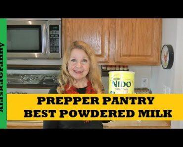Prepper Pantry Best Powdered Milk Nido Fortificada  Walmart Food Storage Milk