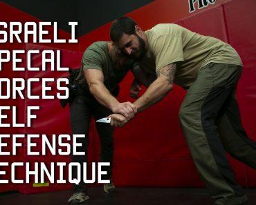 Israeli Special Forces Self Defense Technique   Tactical Rifleman