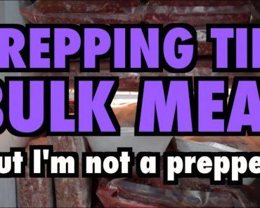 Prepping Tip: Bulk Meat (But I'm not a prepper!)