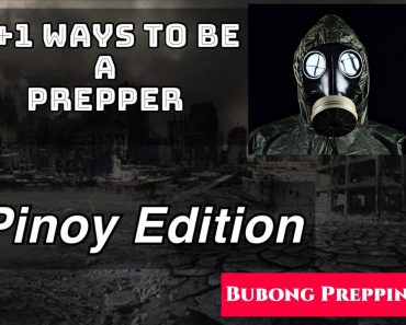 5 WAYS TO BE A PREPPER | TIPS FOR PREPPING | PINOY VERSION | Bubong Prepping