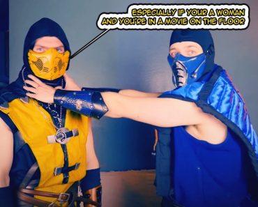 REAL MORTAL KOMBAT – Scorpion & Sub-Zero's Self Defense Tips! (MKX PARODY)