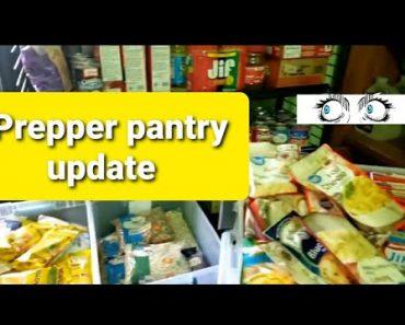Emergency food/prepper pantry update #prepperpantry #shtf #stockpile #prepare #foodstorage #prepping