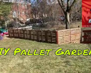 DIY Pallet Garden | Easy Build | Prepper Edition