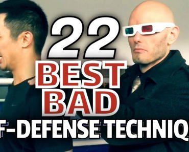 """Top 22 worst women's self-defense techniques. Best of """"MMA Fighters Try Women's Self-Defense"""""""