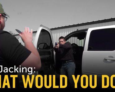 Carjacking Self Defense Scenario: What Would You Do?