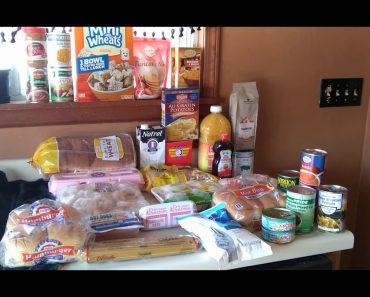 Frugal Prepper Food Pantry Haul