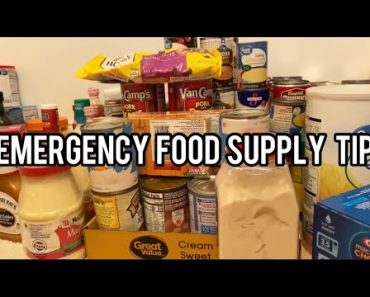 Emergency Food Supply Tips  What I am Doing In The PREPPER Pantry That I Slacked Up On