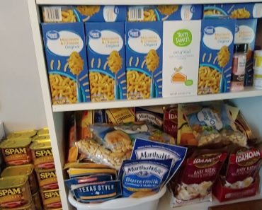Prepper Food Pantry…buying and stocking food while its still in the stores