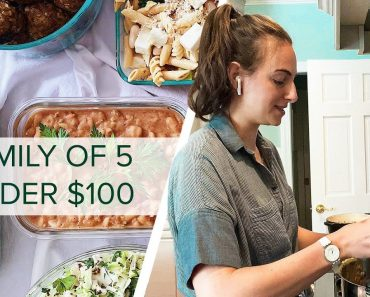 I Meal Prep For A Family of 5 With Less Than $100