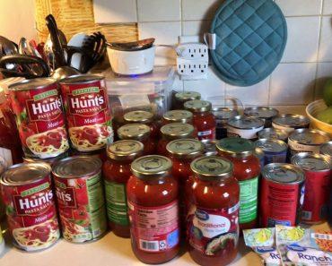 Prepper Pantry Emergency Food Walmart Stock Up!!
