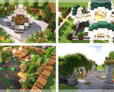 Minecraft: 5 Beautiful Gardens Designs To Show Off Your World