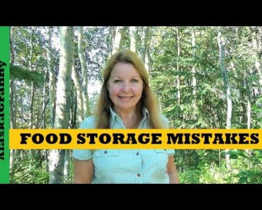 3 Biggest Mistakes Food Storage –  How to Store Food To Last Prepper Pantry