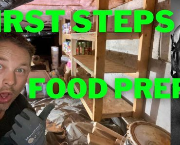Under house root cellar | FIRST STEPS FOOD PREPPING | EBT perks