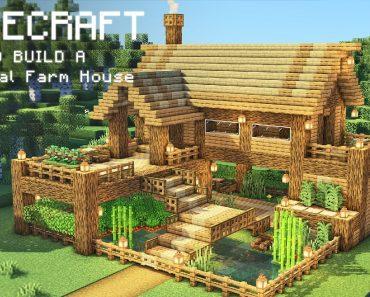 Minecraft: How To Build a Survival Farm House