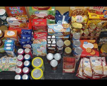 Prepping Pantry Food Haul-Emergency Prepper Food Haul