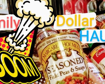 Family Dollar food Haul prepper pantry/ polar vortex 2021 stockpile stock up