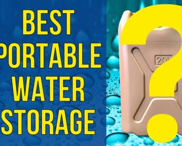 Best Portable Water Containers for Preppers