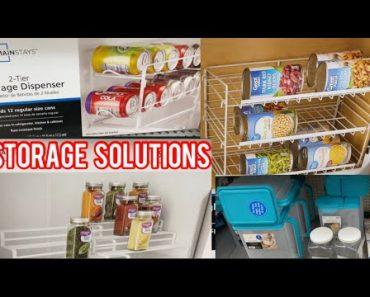 Beginner Prepper Pantry Food Storage Solutions | Emergency Preparedness Food Supply Storage items
